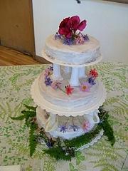 ウエディングケーキ・デモ3