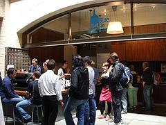Blue Bottle Coffee@フェリービルディング, SF