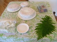 ウエディングケーキ・デモ2