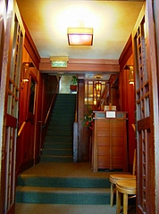 Chez Panisse入り口階段