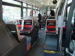 電車みたいだけどバスです。