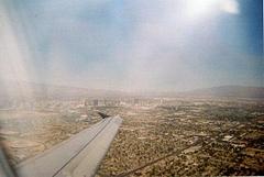 ラスベガスから飛行機で 1