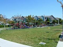 UC Village内の公園