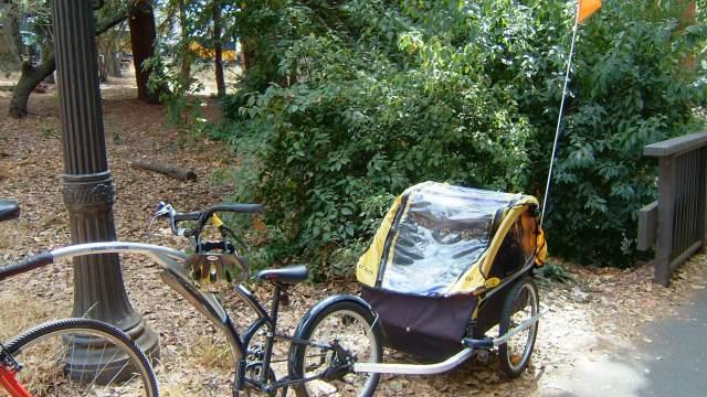 自転車の 自転車 荷台 子供 : ... 楽しいアメリカン連結自転車