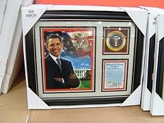 オバマ大統領関連グッズ 7