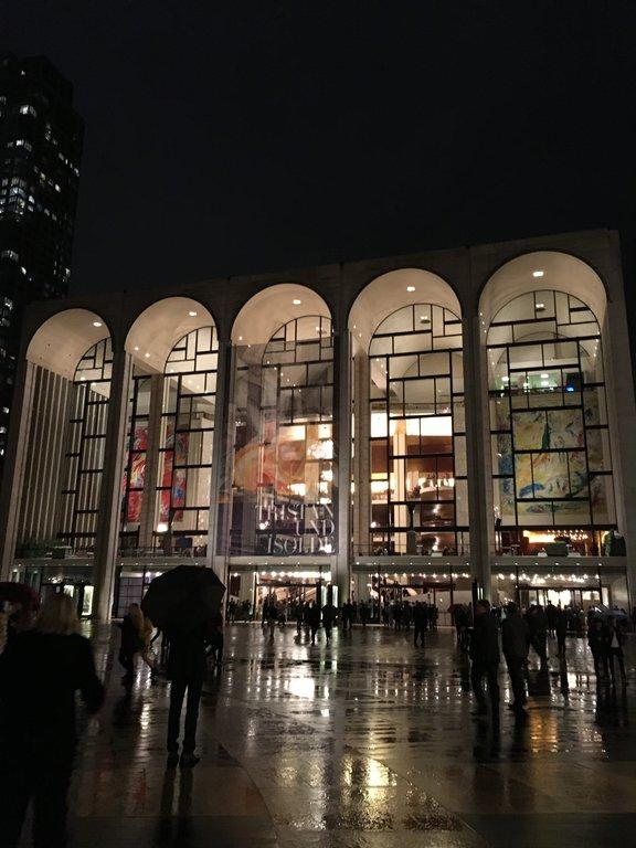 オペラ鑑賞 ドン ジョヴァンニ met opera 窓 new york 再び