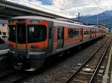飯田線リレー号伊那市駅