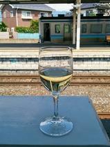 ろくもん信州DCワインバレー号飲み物塩尻白ワイン
