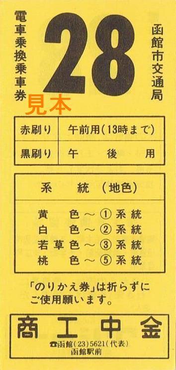 函館市交通局 1系統路線(東雲線 ...