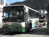 20100220大井川鐡道バス寸又峡線千頭駅1