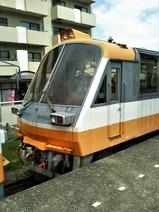 20180510のと恋路号穴水駅1