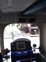 20191031上野懸垂線40形車内運転席西園寄り