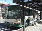 20100220大井川鐡道バス寸又峡線千頭駅2