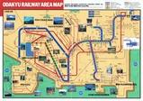 小田急沿線案内199502RSE内側縮小