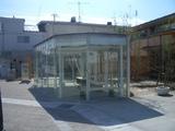 20070429河北町営バスどんがホール(谷地)バス停待合室