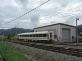 20090829会津鉄道8555廃車留置会津田島駅構内1