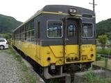 20100529会津鉄道旧型トロッコ車芦ノ牧温泉駅