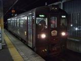 20210218わたらせ渓谷鐵道イルミネーション4・5号桐生駅