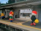 飯田線リレー号北殿駅