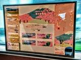 小田急富士山トレインごてんば号車内記念品展示