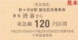 新・渋谷駅BirthdayTicket2