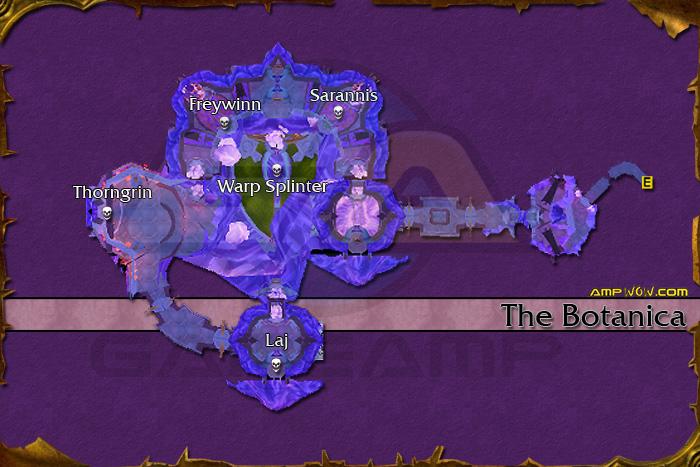 The Botanica(need Flying Mount) [TK, Bot]@Tempest Keep, Netherstorm Heroic  Mode:Warpforged Key(Shau0027tar   Revered)