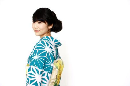 ポワソンドールオリジナル夏キモノ・モダン麻の葉受注受付中★3月31日まで!