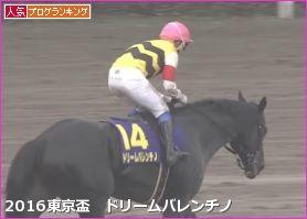 東京盃 ドリームバレンチノ
