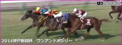 神戸新聞杯 ワンアンドオンリー