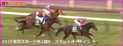 東京スポーツ杯2歳S スマートオーディン