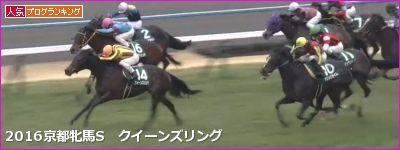 京都牝馬S クイーンズリング