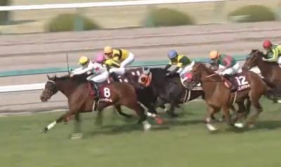阪神牝馬S ミッキーチャーム
