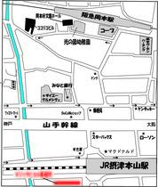 マジックピエロ事務所地図