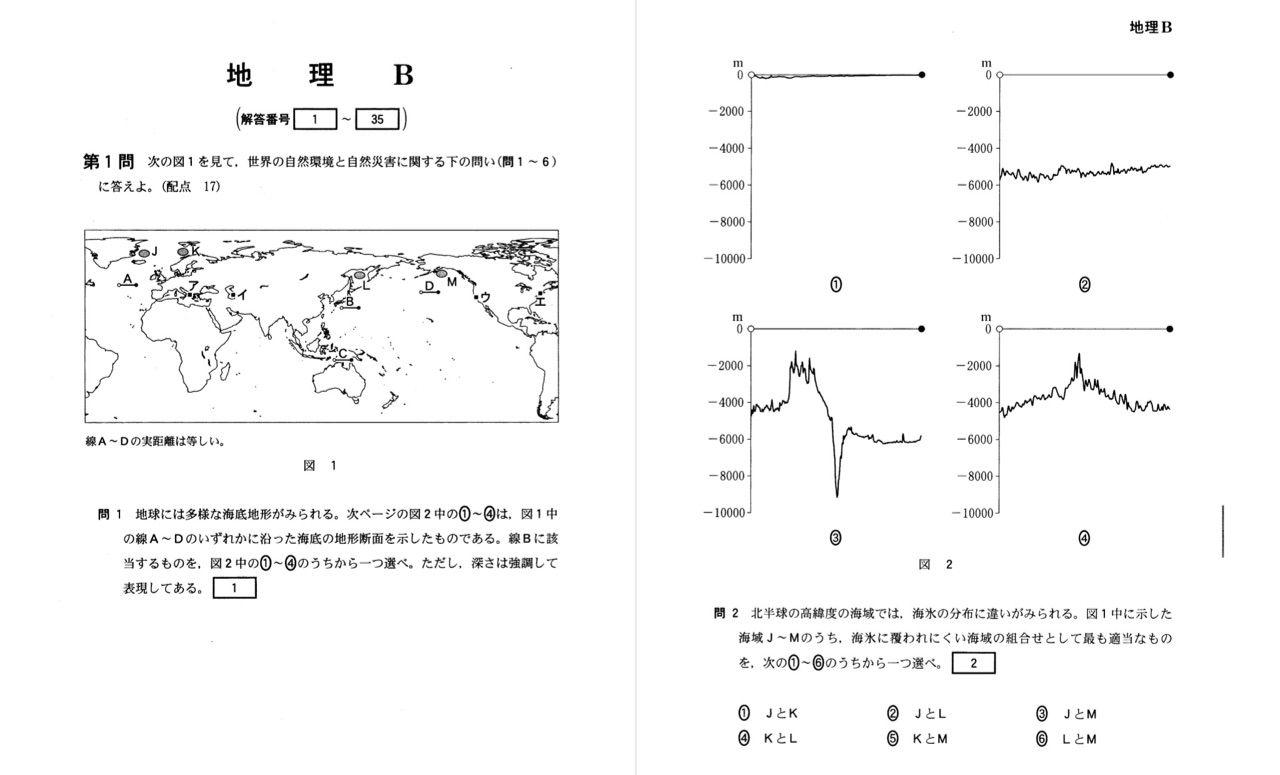 センター地理解説 : GEOgraphia ー東大生による大学受験地理対策ー