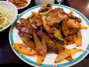晴々飯店 リアル回鍋肉