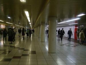 新宿地下街 西口