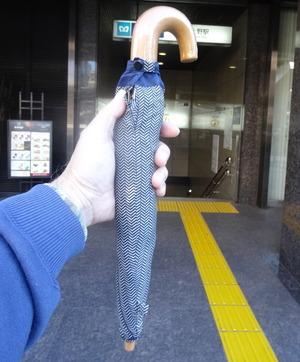 戻ってきた傘