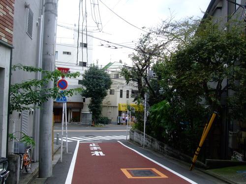 淡島通りへ