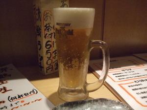 決戦前夜 ビール