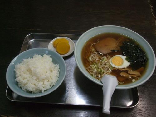 「松葉」 トキワ荘ラーメンライス