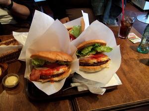 ジャンボバーガー@ZATS BURGER CAFE 中野ツタヤ横店
