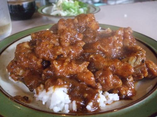 ゴッホ 「肉いっぱい(チキン)のカリー」