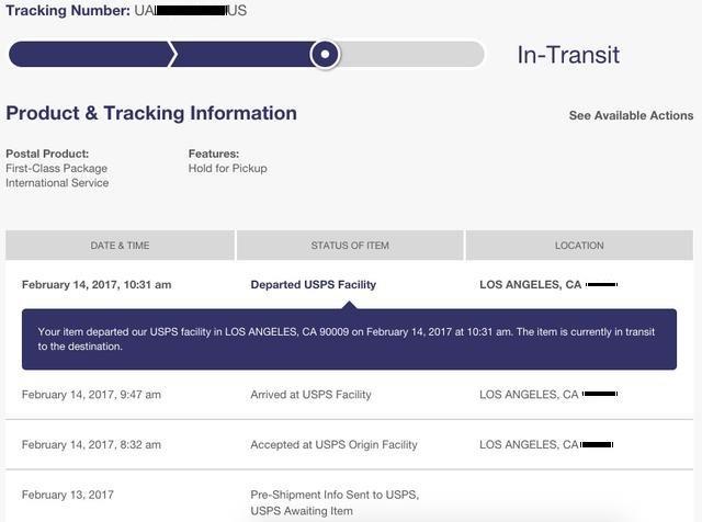 追跡 国際 郵便 郵便 局