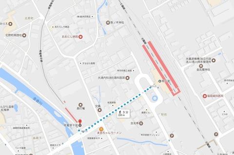琴電琴平駅~琴平駅