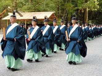 奉幣の儀 外宮 神職