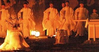 木本祭 祓い清め