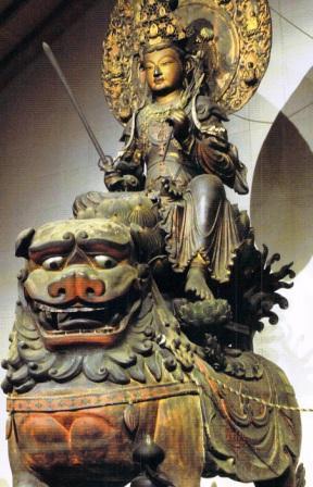 文殊菩薩の獅子