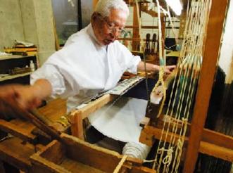熟練の織手