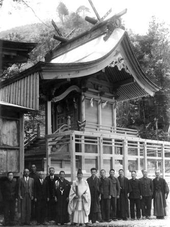 昭和二十一年 神社