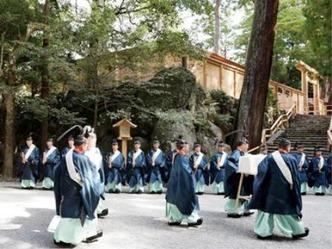 奉幣 内宮 神職